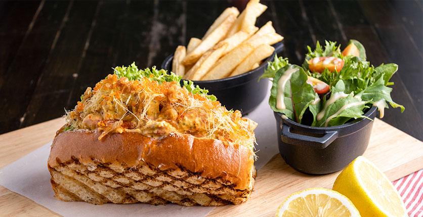 Fremantle Seafood Market Tom Yum Lobster Roll