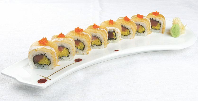 SUN with MOON Torotaku Goma Buri Roll Sushi