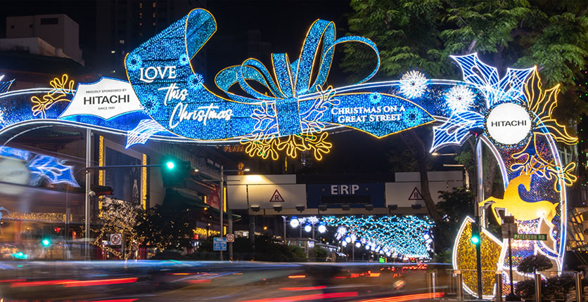 Orchard Road Christmas On A Great Street 1