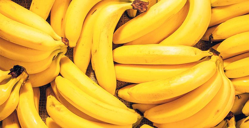 Vitamin B2 bananas