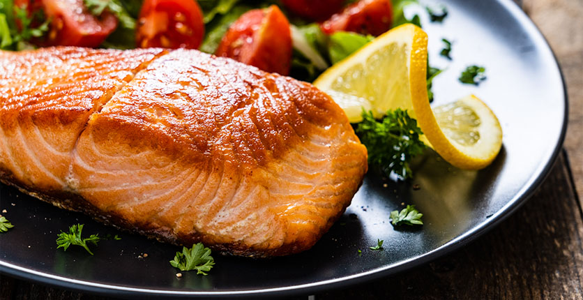 Vitamin B12 salmon