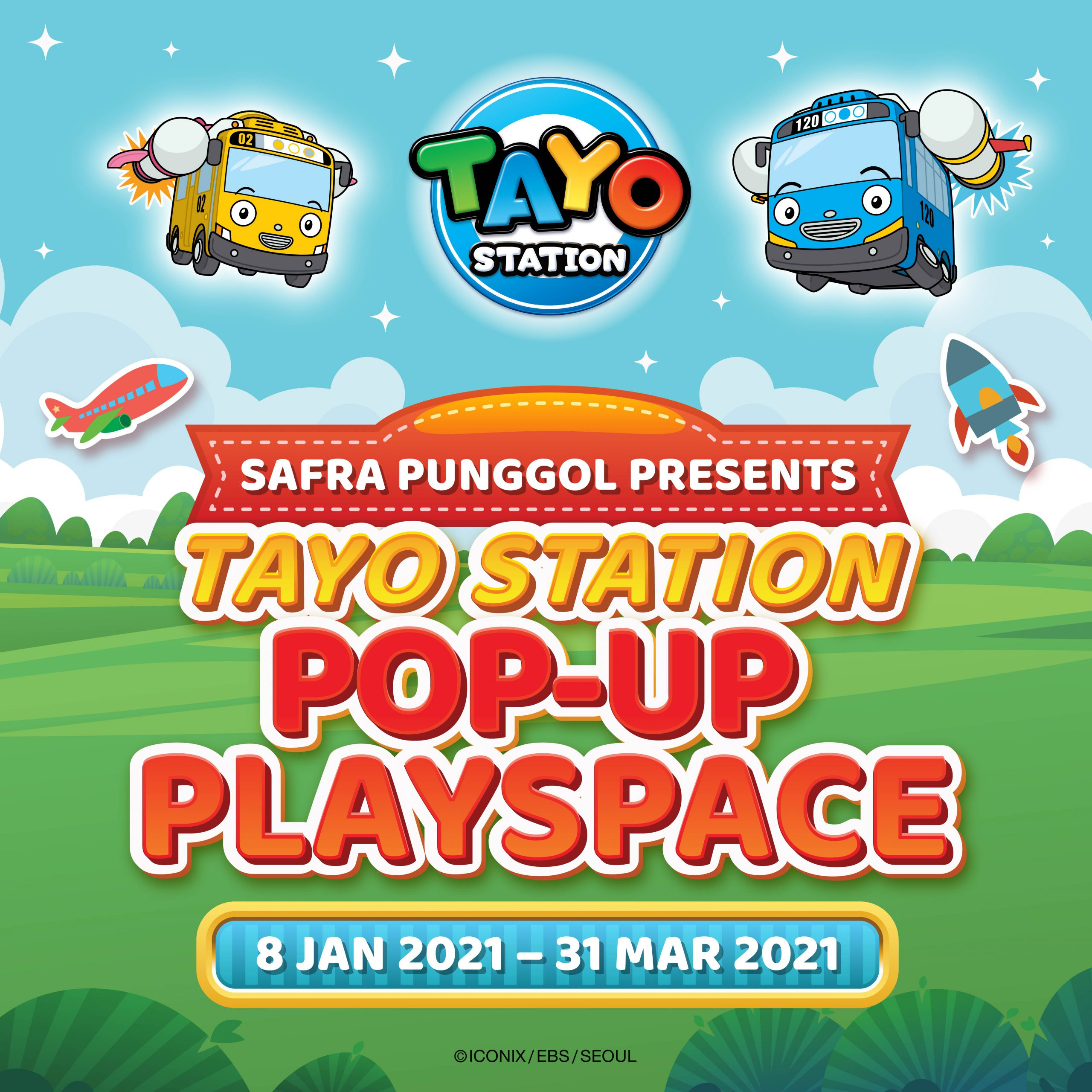 SAFRA Punggol Presents Tayo Station Pop-up Playspace