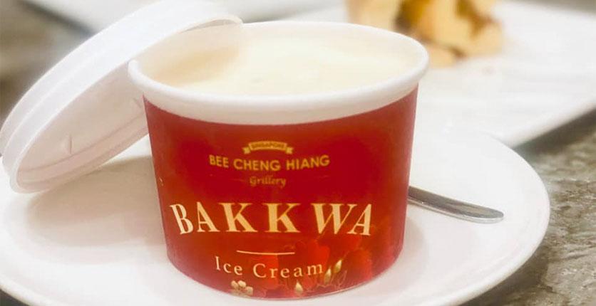 Bee Cheng Hiang Bakkwa Ice Cream