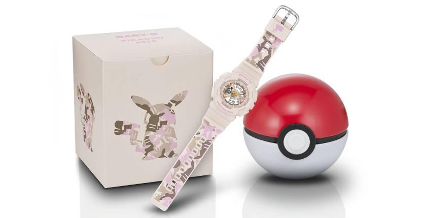 BABY-G Pokémon watch