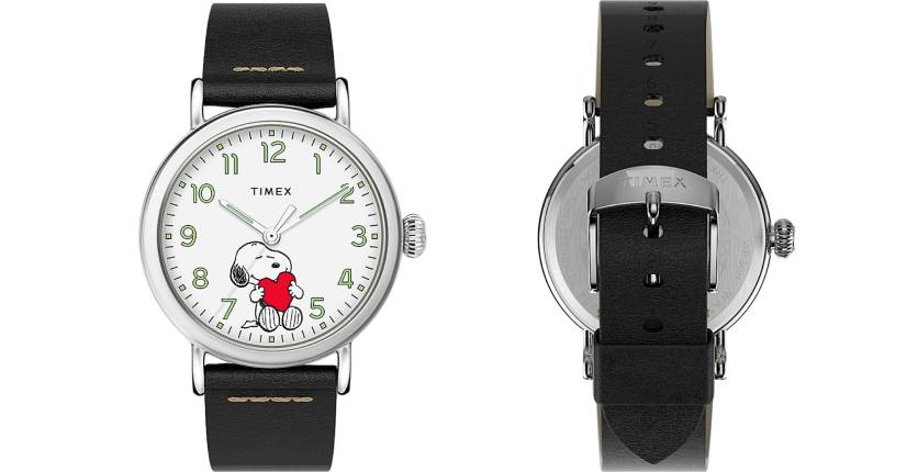 Timex Standard x Peanuts Featuring Snoopy Valentine's Day