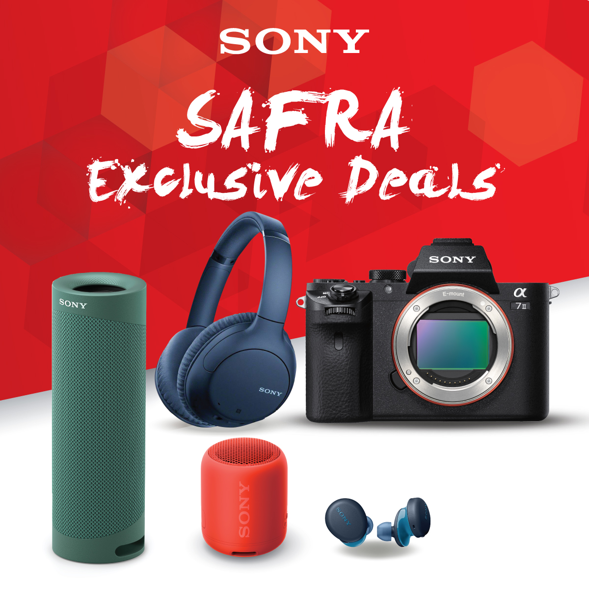 SONY - Up to 50% Off Selected Sony Camera, Audio and TV Products