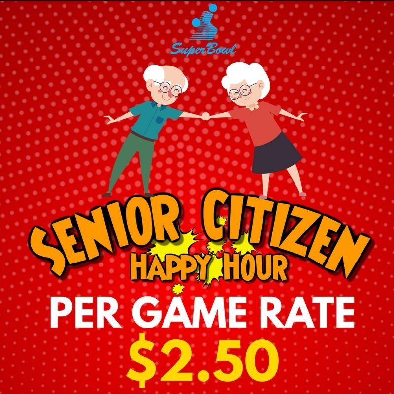 SAFRA Mount Faber - $2.50 per game for Senior Citizens on Weekdays