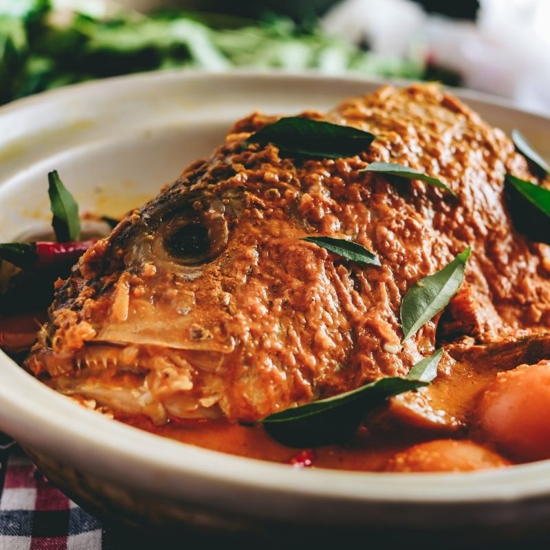 SAFRA Mount Faber - Sakunthala's Whole Fish Head Curry Promo