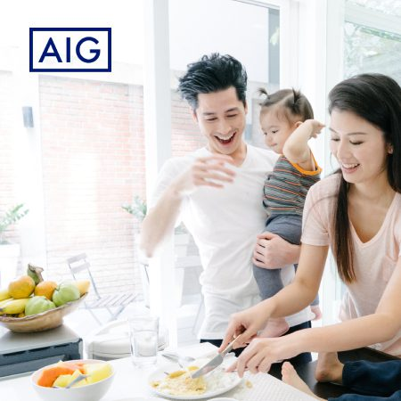 SAFRA x AIG - Protect your home now and get S$50 Qoo10 voucher