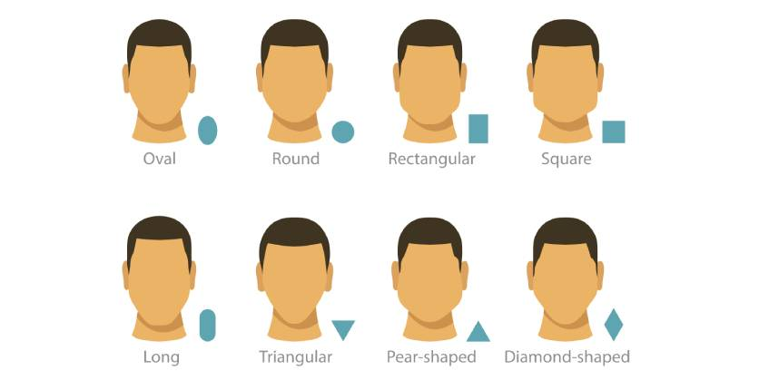 Face Shapes Illustrations