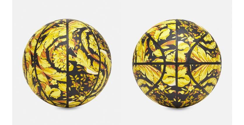 Versace Barocco Print Basketball