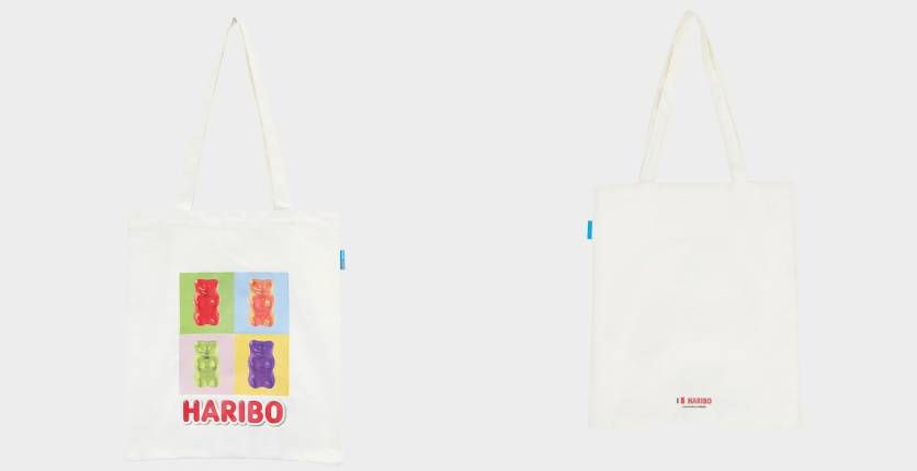 Pomelo Haribo Graphic Print Tote Bag