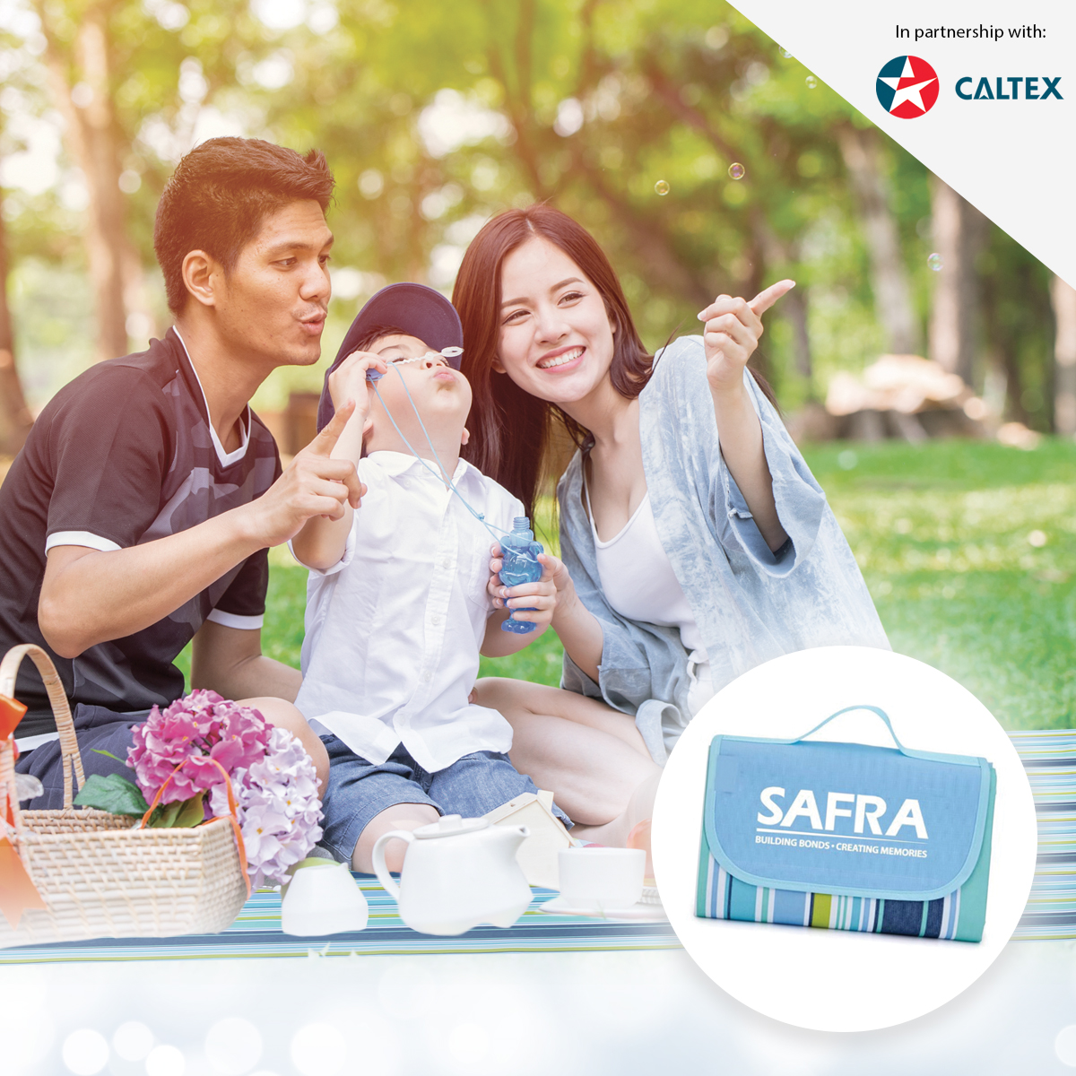 CALTEX - Get A Free Foldable Picnic Mat With A Min. Spend Of $60 Gross On Caltex Fuel