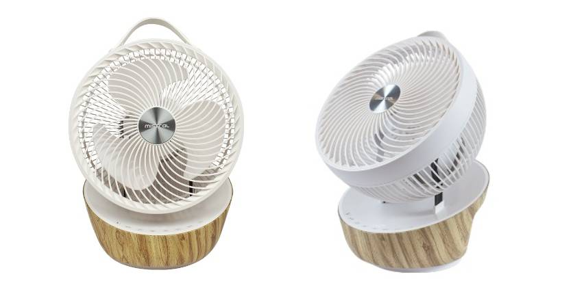 """Minstral Mimica 9"""" High Velocity Fan with Remote Control"""