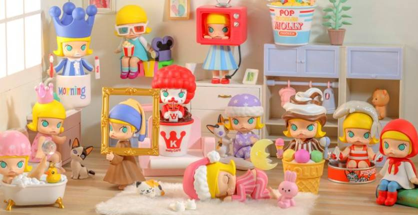 POP MART x Kennyswork One Day of Molly Series