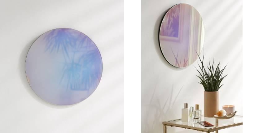 Urban Outfitters Nova Iridescent Mirror