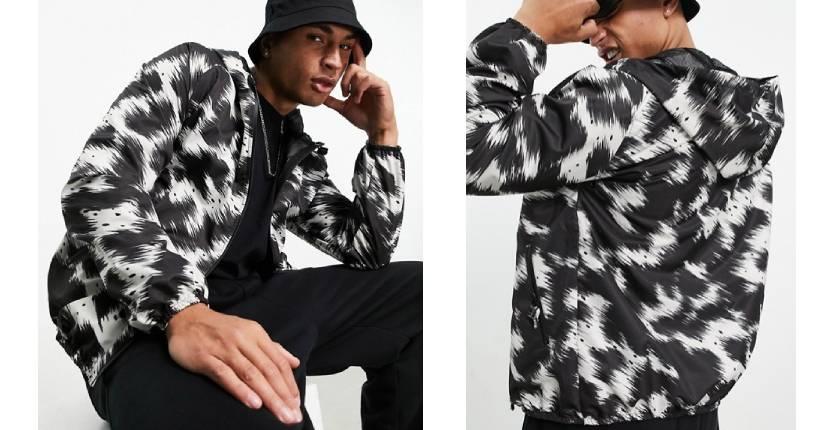 Bolangaro Trevor Sport Blown Cow windrunner nylon jacket