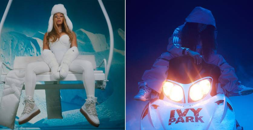 adidas x Ivy Park's Icy Park collection