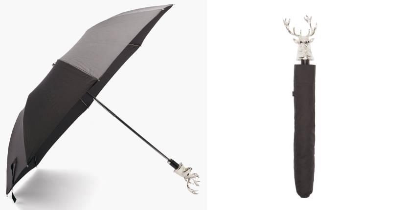 Deakin & Francis Stag Head-Handle Umbrella