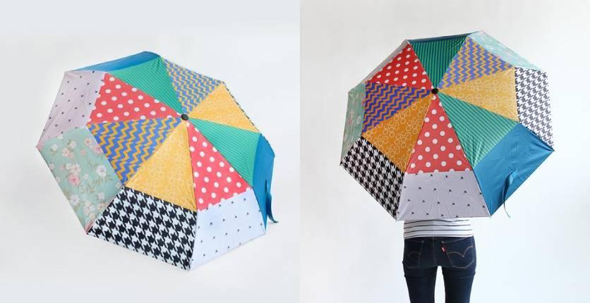 Klosh Patchwork Umbrella