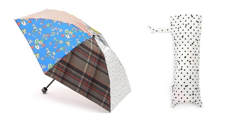 Sacai Zantan Mix Print Panel Umbrella