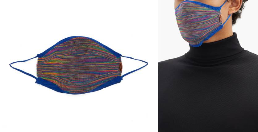 Missoni Space-striped Face Covering