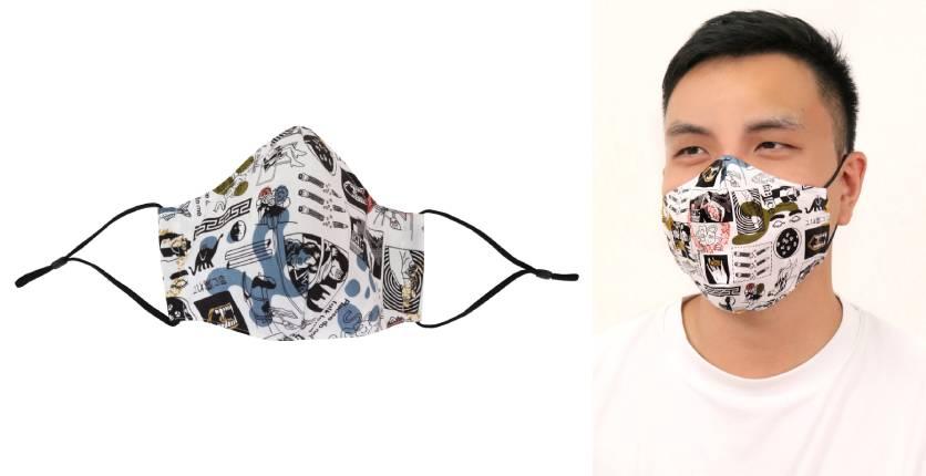 CYC x Liberty London Mr. Face Antimicrobial Mask