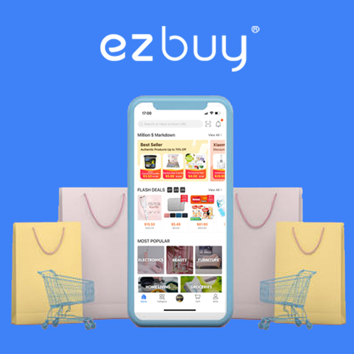 ezbuy - Up To $10 Off Purchases