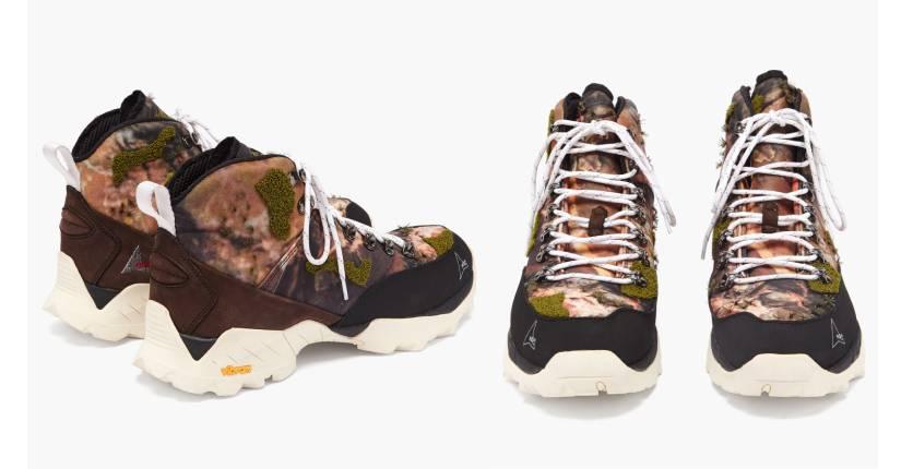 ROA Andreas kudu-leather hiking boots