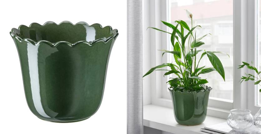 IKEA SHARONFRUKT Plant Pot