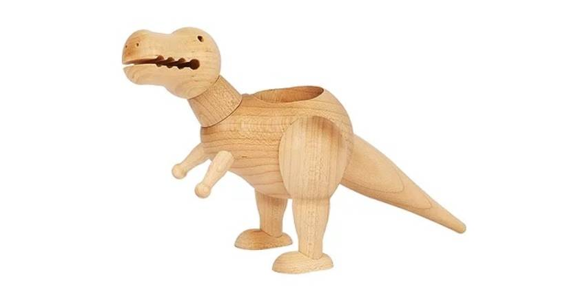 Wooderful life Triceratops Wooden Pot