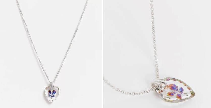 Regal Rose Nancy Necklace With Two Rose Pendant In Sterling Silver