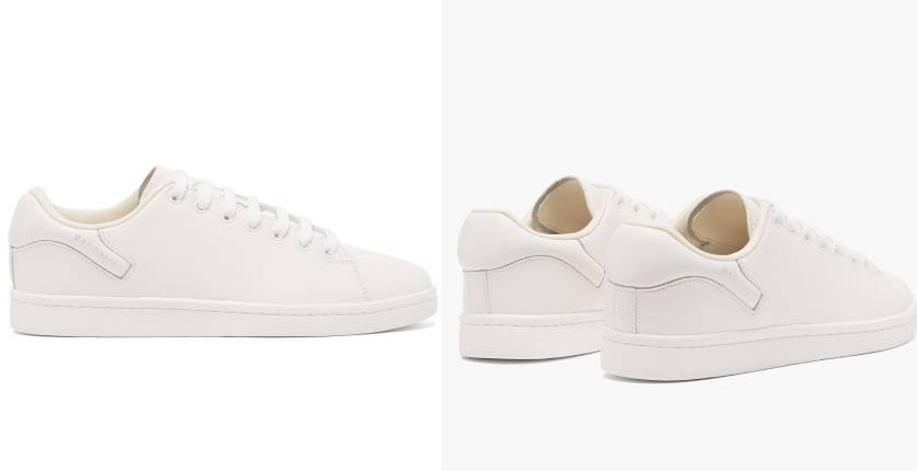 Raf Simons Orion faux-leather trainers