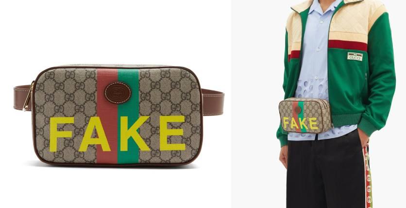 Gucci FakeNot GG Supreme belt bag