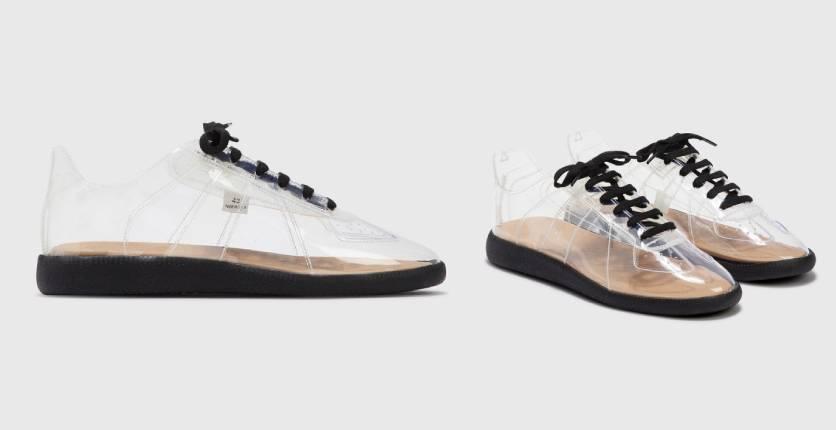 Maison Margiela Replica transparent sneaker
