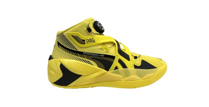 Puma + Porsche Disc Rebirth basketball sneakers
