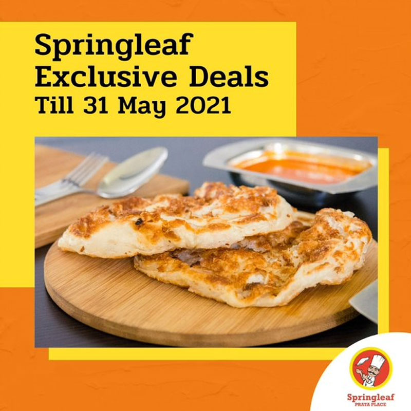 SAFRA Jurong - Exclusive Opening Deals At Springleaf Prata Place