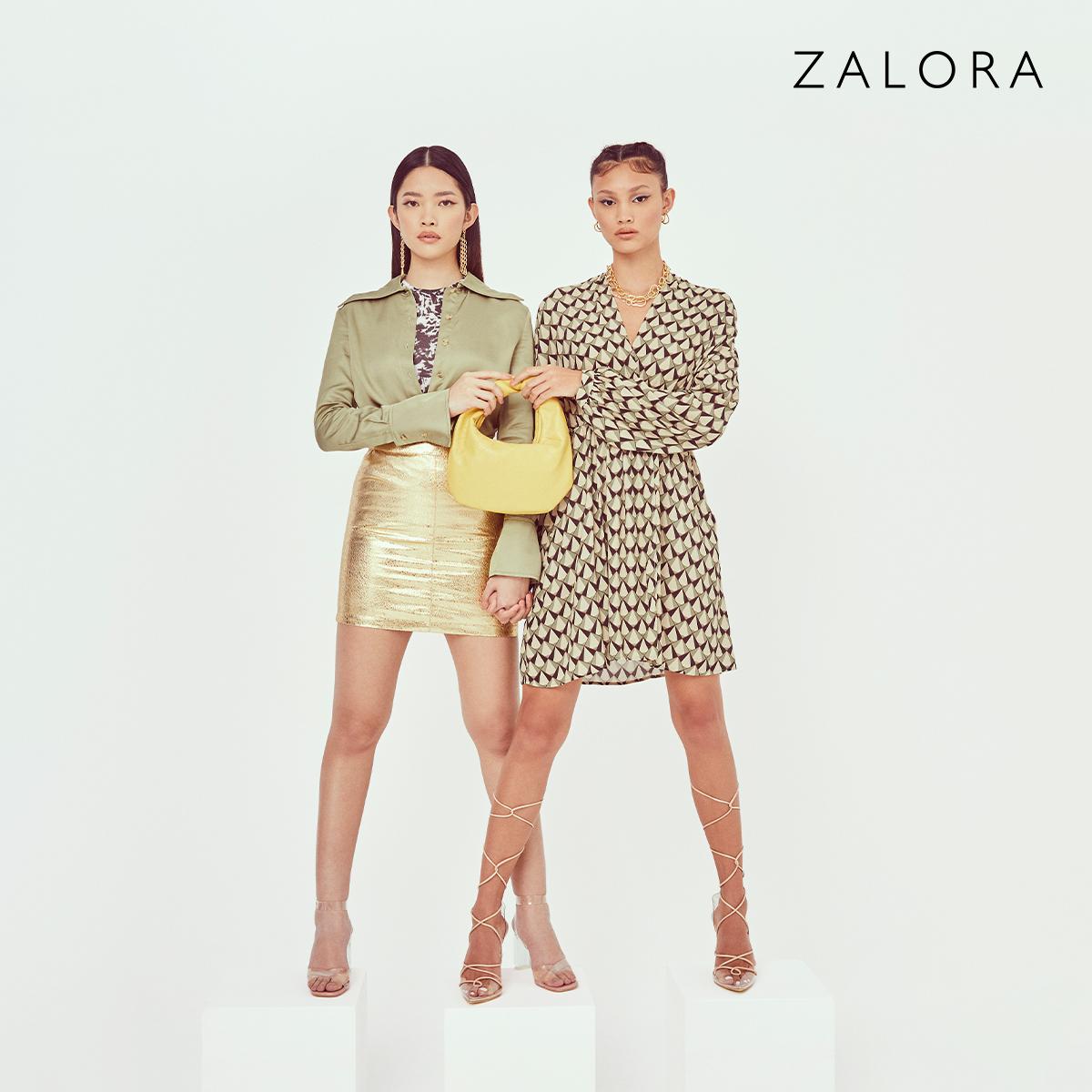 Zalora - Up To 20% Off Purchases + 3% Cashback