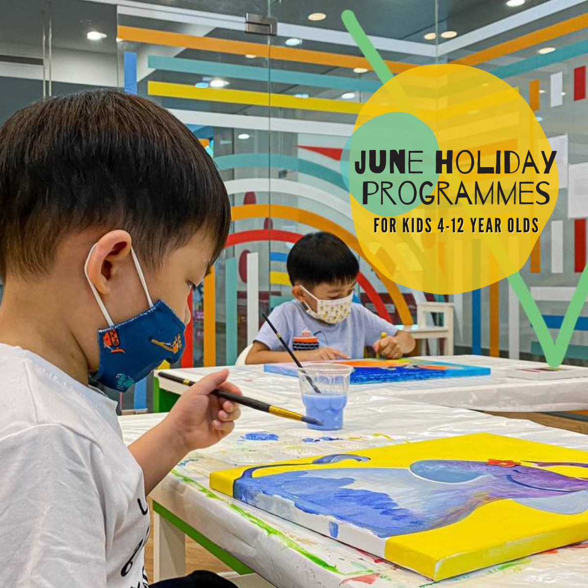 Canvas Ark June Holiday - Art And Beyond Art Programmes