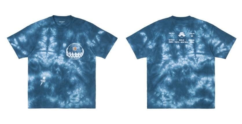 Carhartt WIP SS Joint pocket tie-dye T-shirt
