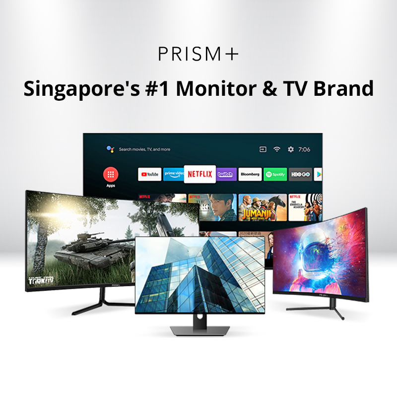 PRISM+ - Up To $20 Off PRISM+ Monitors & TVs