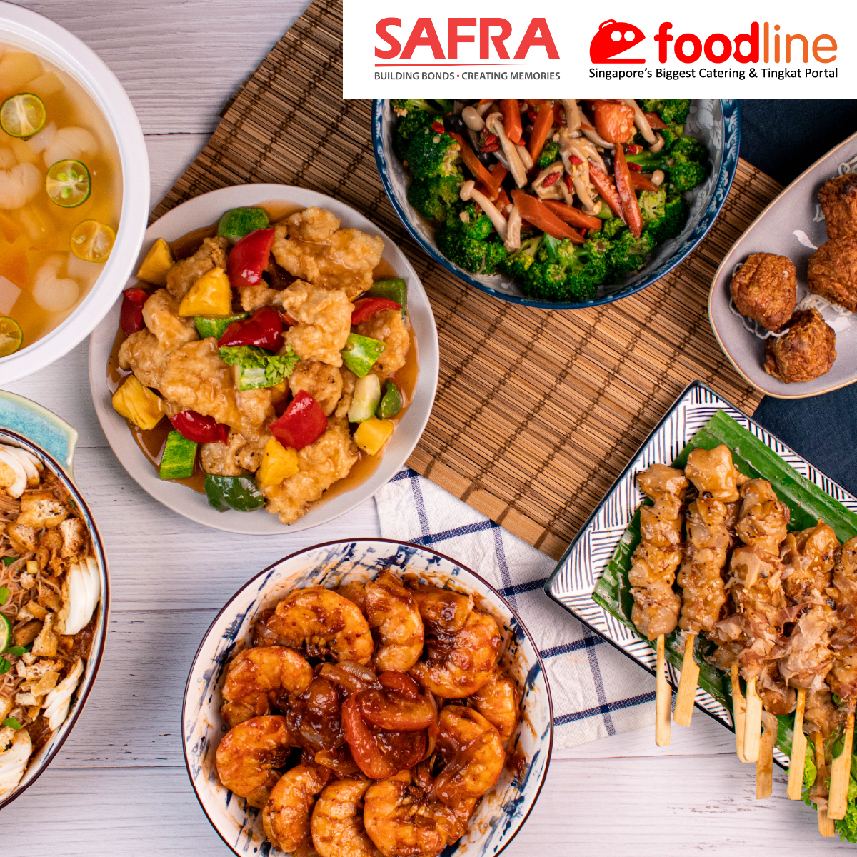 FoodLine.sg - Up To $12 Off Orders With Min. Spend