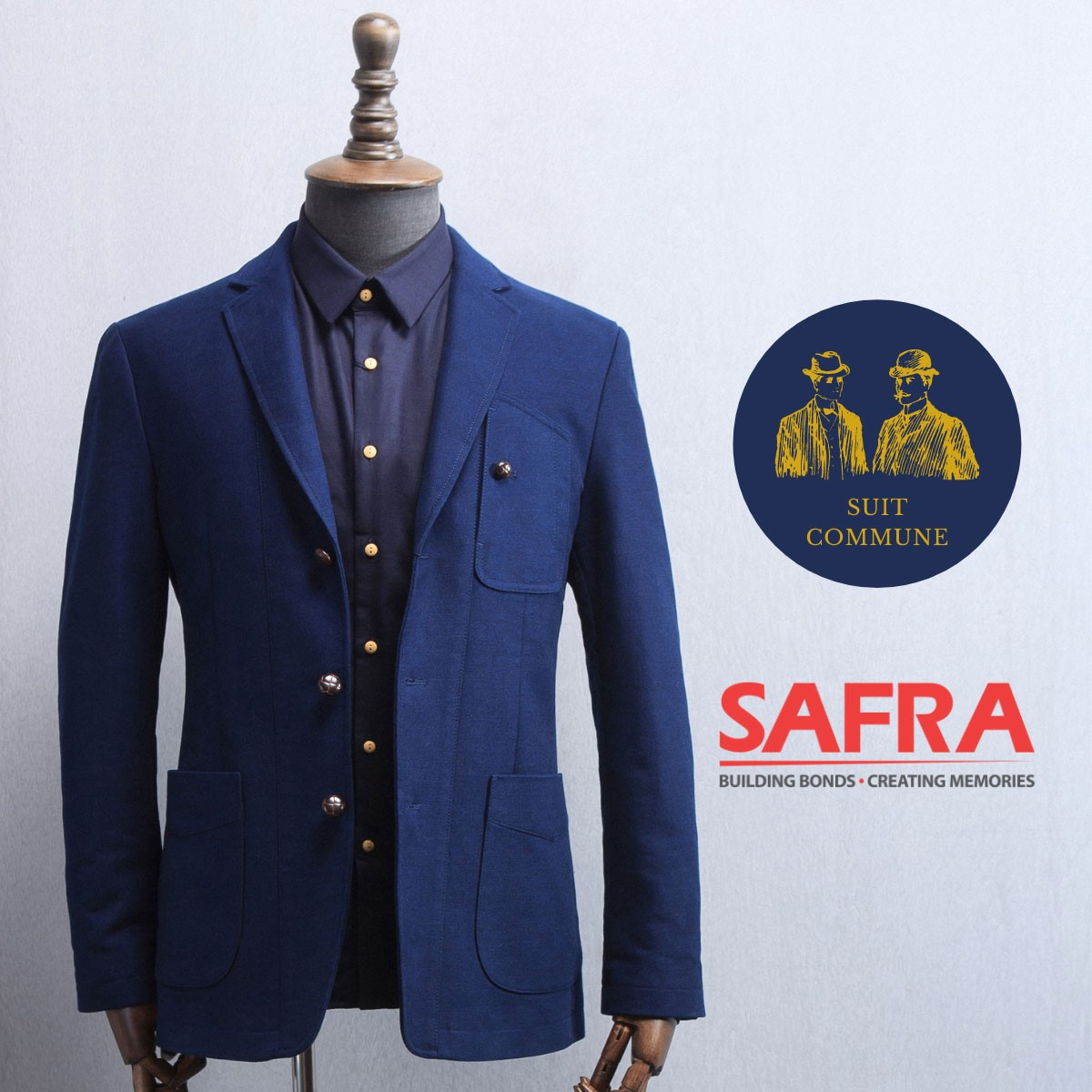 Suit Commune - Receive A Complimentary Lining With Every Purchase Of A 2-Piece Suit