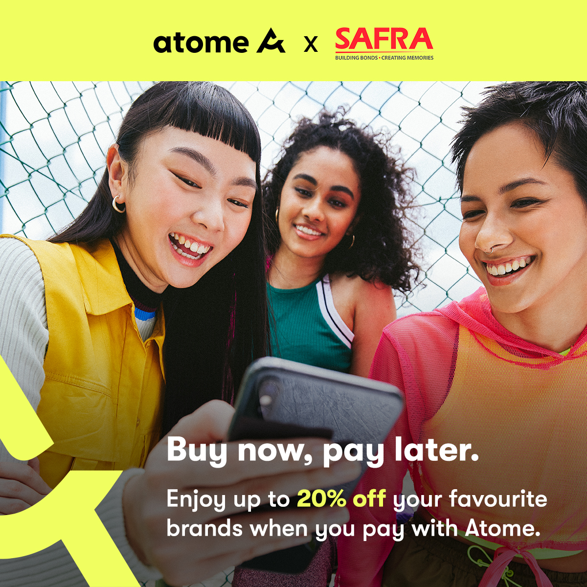 Atome - Up To 20% Off On Marks & Spencers, OSIM, ezbuy, Levi's, Converse And More!