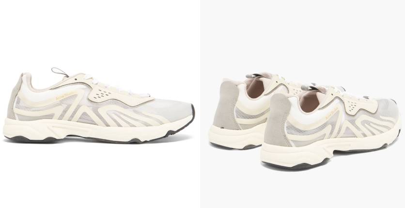 Acne Studios Panelled trainers