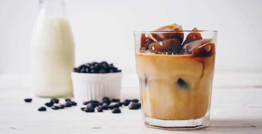 Ice Cubes Coffee