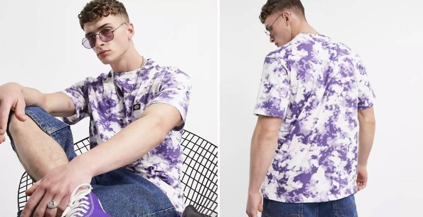 Dickies Sunburg tie-dye T-shirt