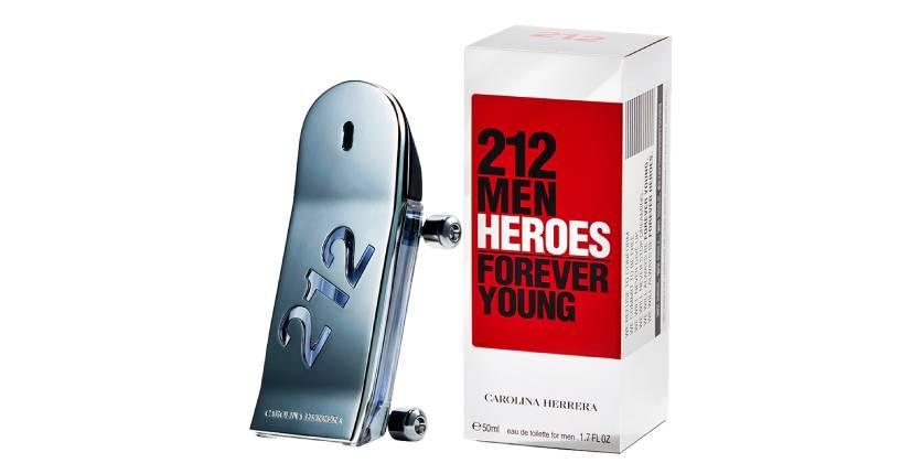 Carolina Herrara 212 Men Heroes Forever Young Eau de Toilette