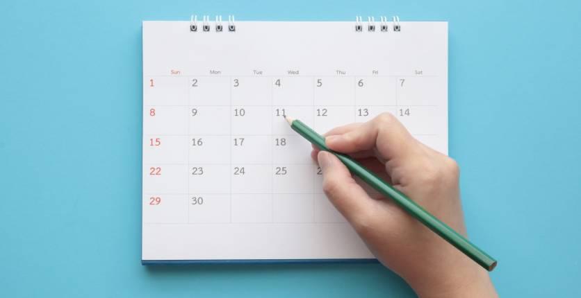 Pencil In A Date