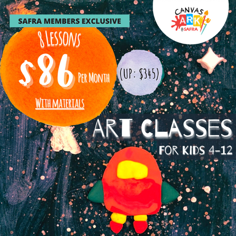 Canvas Ark - Receive 50% Off Our Regular Art Lessons This Jul/Aug Term.